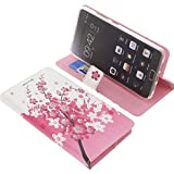 foto-kontor Tasche für Lenovo Vibe P2 Book Style Lila