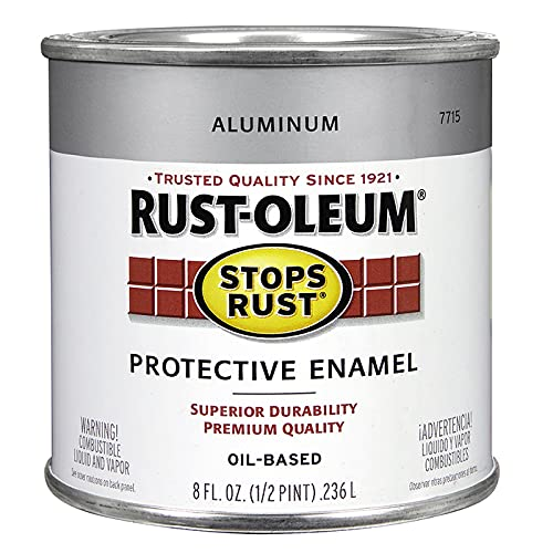 Rust-Oleum Stops Rust Aluminum Protective Enamel 0.5 pt.