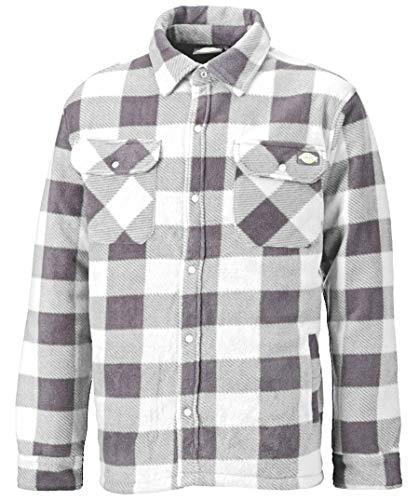 Dickies Holzfällerhemd Thermohemd Portland SH5000, Ideal für Herbst und Winter (Weiß, M)