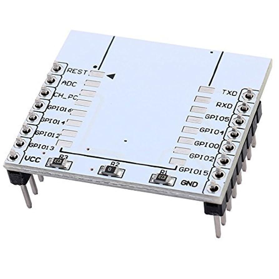 電子レンジ有名パラメータeDealMax De Serie del módulo adaptador WiFi ESP8266 Junta ESP-07 ESP-12 ESP-12E