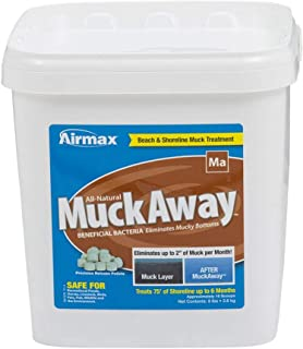 "Airmax MuckAway, Natural Pond Muck Reducer, Removes Up to 2"" of Muck Per Month Target Beaches & Shorelines, 16 Scoops"