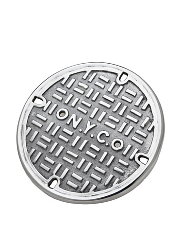 Godinger N.Y.C. Manhole Cover Trivet