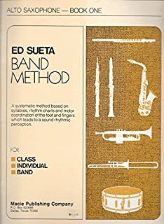 Ed Sueta Band Method: Alto Saxophone - Book One