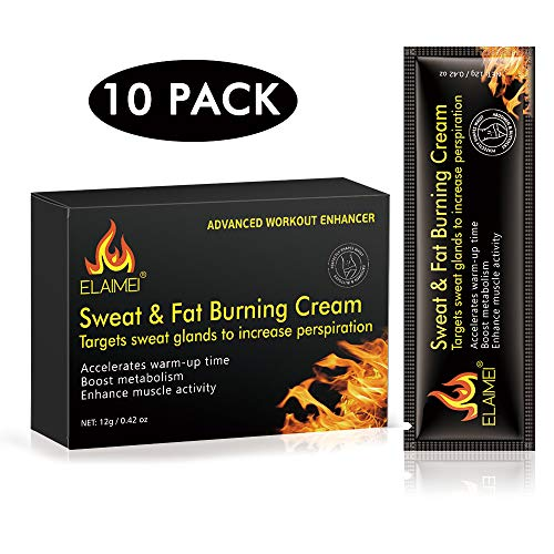Hot Cream (1 box/10pcs), Abdominal Fat Burner for Men and Women, Deep Tissue Massage and Muscle Relaxant, Natural Anti-Aging Cream, Deep Tissue Massage & Muscle Relaxer