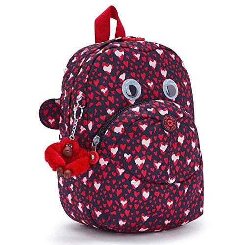 Kipling Equipaje unisex para niños más rápido: equipaje para niños, Festival del Corazón (Rosa) - KI709765E