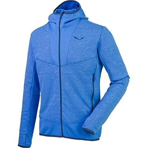 Salewa Puez 2 Pl M Fz HDY - Sweat-Shirt pour Homme, Couleur Bleu, Taille 52/XL