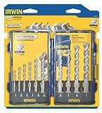 Irwin Tools 1792772 Multi Material Pro Drill Bit Set, 10-Piece