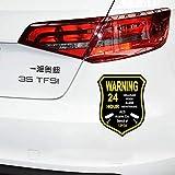 Personalidad Etiqueta engomada del coche Acs Alarma Vigilancia Cámara de seguridad Car Styling Calcomanía reflectante para Suzuki, 12cm * 13cm