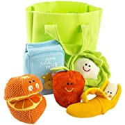 Earlyears Lil' Shopper Play Set - Teaches Beneficial Skills - Fun Tactile Engagement - Safe 6-Piece Set