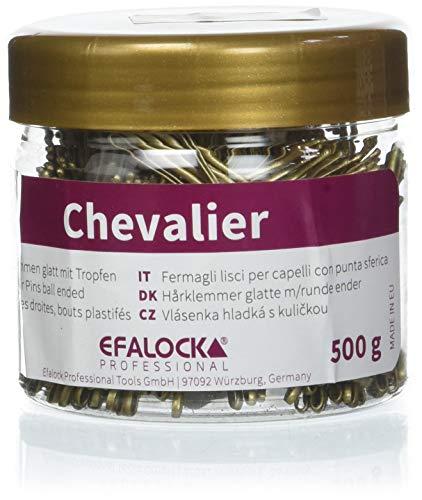Efalock Professional Chevalier Haarklemmen, 5 cm, gold, 1er Pack, (1x 500 g)