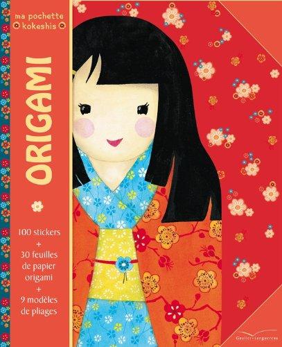 Ma pochette Kokeshis - Origamis