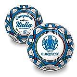 Mondo Toys - Pallone da Calcio UEFA EURO 2020 ITALIA CAMPIONE PVC per Bambina o Bambino - ...