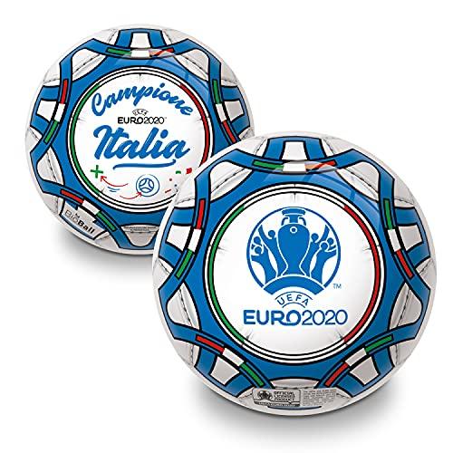 Mondo Toys - Pallone da Calcio UEFA EURO 2020 ITALIA CAMPIONE PVC per Bambina o Bambino - Colore Blu, Nero,Bianco, Verde o Rosso - 26066