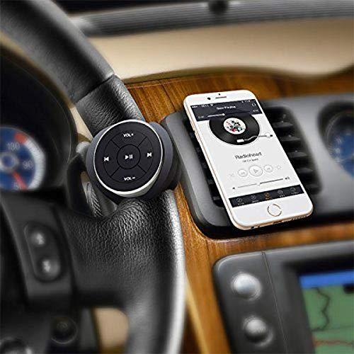 YTGUEVKDH Coche Bluetooth Receptor 12M Medios Serie del botón de Control Remoto de Audio y vídeo Smartphone