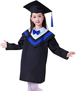 KESYOO Kids Graduation Cap Gown with Tassel 2020 Charm For Preschool Kindergarten 110cm