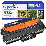 SuperInk 1 Pack MLT-D115L 115L D115L MLTD115L MLT-D115S High Yield Black Toner Cartridge Compatible for Samsung Xpress SL-M2830DW M2880FW M2670 M2620 M2820DW M2870FW Printers