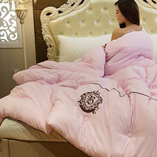 Xianw Leichtgewicht - Luxus Goose Down Alternative Tröster - Hotel Qualität Tröster Und Allergiker-Full/Queen,C,200X230cm(79X91inch)