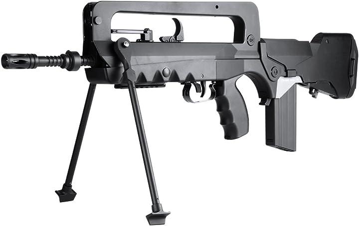 Fucile softair, versione avanzata con scatola in metallo, <0,5j softair famas f1 aeg B00LZS0MW2