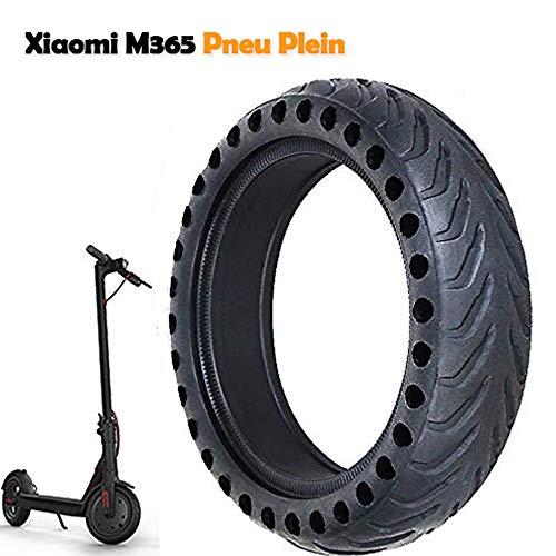 Llanta Compatible para Xiaomi M365, Antideslizante Xiaomi M365 Neumático de 8,5 Pulgadas Llanta de Repuesto sólido para llanta Delantera/Trasera Xiaomi Mijia M365 Accesorios