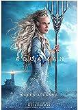 Póster enrollado de Nicole Kidman Aquaman Queen Atlanna de tamaño 30 x 18 pulgadas