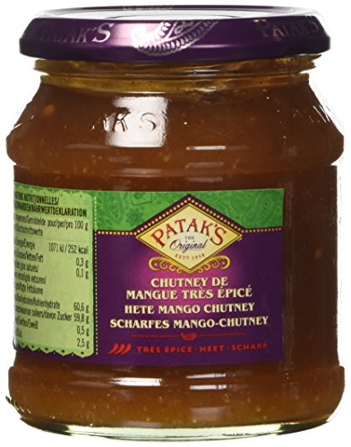 Patak's Chutney al Mango Piccante - 340 gr