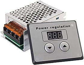 Walfront 4000W AC 220V SCR R/égulateur de Temp/érature R/églable de Tension /Électrique