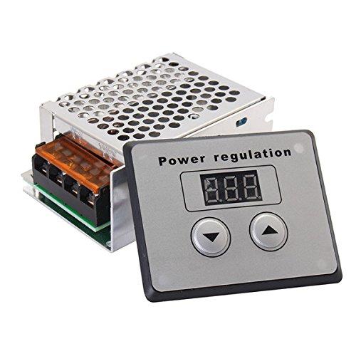 EsportsMJJ AC 220V 4000W Scr Regulador De Voltaje Dimmer Motor Eléctrico Regulador...