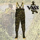 Vass-Tex 800 Camouflage Chest Wader: 10
