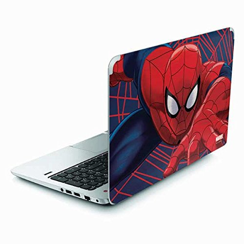 Skinit Decal Laptop Skin for Envy TouchSmart 15.6in - Officially Licensed Marvel/Disney Spider-Man Crawls Design