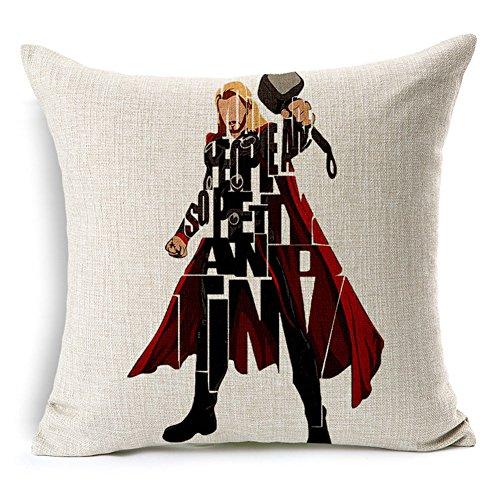 Cojín Thor con fondo blanco