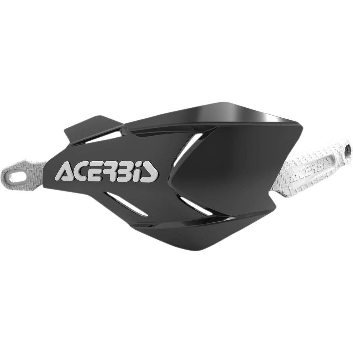 Acerbis Handguards Enduro MX Handprotektoren X-Factory weiss schwarz