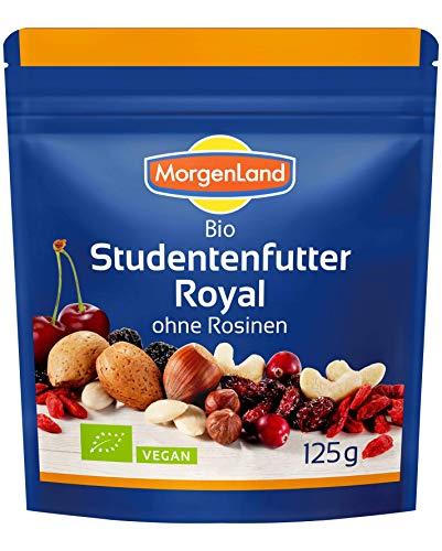 MorgenLand Bio Studentenfutter Royal, 2er Pack (2 x 125 g)