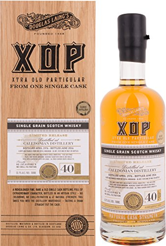 Caledonian XOP Douglas Laing 40 Years Old in Holzkiste Whisky (1 x 0.7 l)