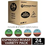 Keurig Espresso Roast Variety Sampler Pack, Single-Serve Coffee K-Cup Pods, Variety, 24 Count
