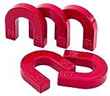 Betzold Hufeisen-Magnete, 5 Stück, Magnetismus Experimente Physik für Kinder, aus Ferro - Ferritmagnet Hufeisenform magnetisch Schule Schüler Physikunterricht Lehrmittel