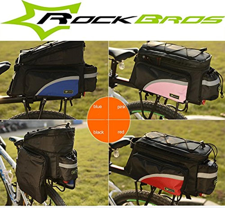 Bazaar ROCKBROS Bike Bag Bicycle Rear Seat Bag Tail Bag Pannier Bag