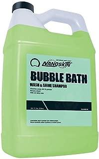 Nanoskin (NA-BUB128) Bubble Bath Car Wash and Shine Shampoo - 1 Gallon