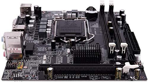 MUKUAI54 H55 LGA 1156 Placa base LGA 1156 ATX imagen de escritorio USB2.0 SATA2.0 canal dual 16G DDR3 1600 para Intel ordenador DIY