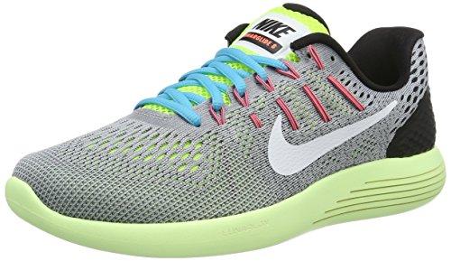 Nike Lunarglide 8, Scarpe da Running Uomo - Wolf Grey/white-volt, 46 EU