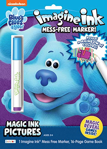 Nickelodeon Blue's Clues and You 16-Page Imagine Ink Coloring Book with Mess Free Marker 50580 Bendon