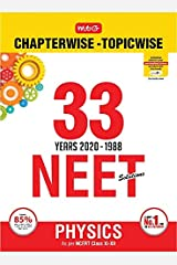 33 Years NEET-AIPMT Chapterwise Solutions - Physics 2020 Kindle Edition
