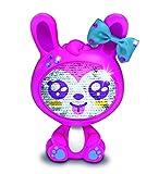 Giochi Preziosi-Les Zequins-Animal 14 cm con lentejuelas mágicas, conejo, color rosa y Gemi Kit de ocio, THE002 , color/modelo surtido