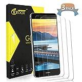 CRXOOX Verre Trempé pour Huawei P10 Lite,[3 Pack], Film Protection Écran en Verre Trempé Transparent - 3D-Touch/Dureté 9H,...
