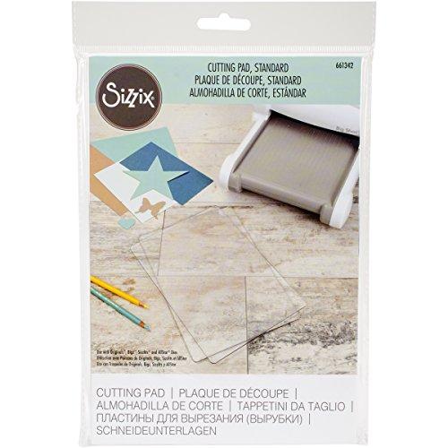 Sizzix 661342 Big Shot Plus Accessori Taglierina standard, PC in plastica, Trasparente, Confezione da 1 pezzo