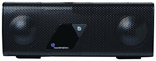 Great Price! Soundmatters foxLv2 Bluetooth Loudspeaker System (Black) (Old Version)