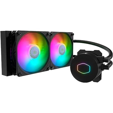 Cooler Master MasterLiquid ML240L V2 ARGB 簡易水冷CPUクーラー MLW-D24M-A18PA-R2 FN1402