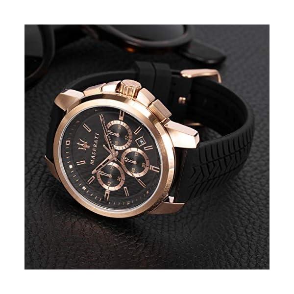Maserati Reloj para Hombre, Colección Successo, en Acero Inoxidable, PVD