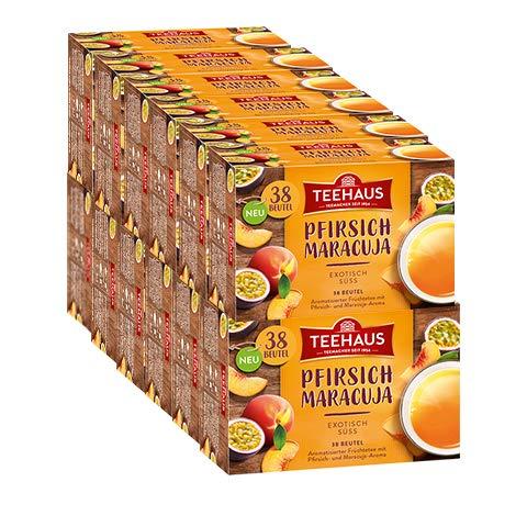 Teehaus Pfirsich-Maracuja, 12er Pack
