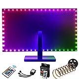 Kohree Led TV Hintergrundbeleuchtung 2M USB Fernbedienung Beleuchtung Fernseher für 40-60 Zoll...