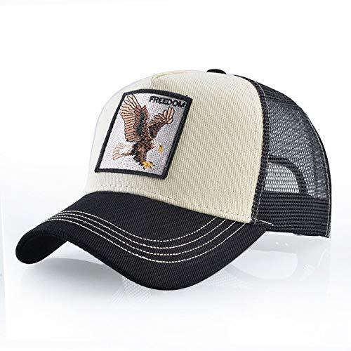 8 Tipos deGorras de bisbol para Hombres Gorras Snapback de Malla Transpirable Unisex Sombrero para el Sol para Mujeres Casquette Hip Hop-Freedom BE